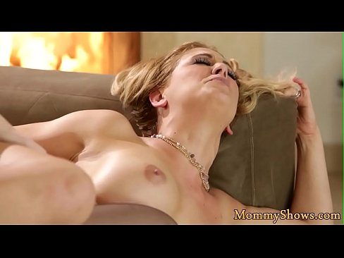 Classy milf scissoring with her stepdaughter