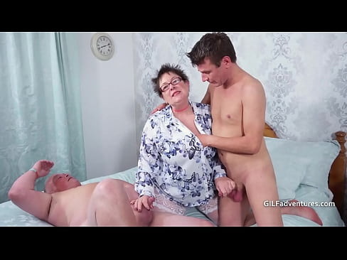Bisexual guys with a fat assed mature woman