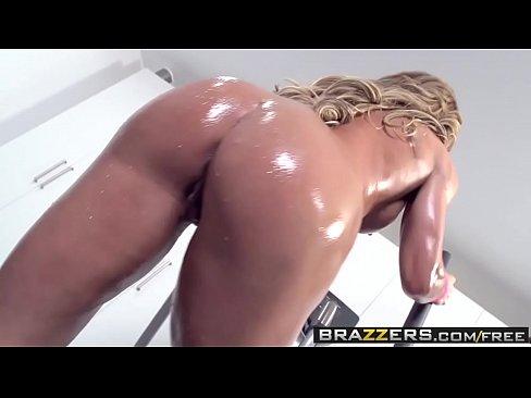 Big Wet Butts -  Ninas Workout scene starring Nina Dolci and Keiran Lee