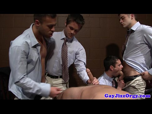 Well dressed Donny Wright has an orgy