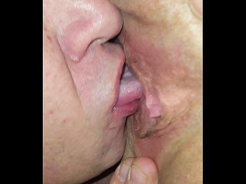 His magic tongue feels amazing!