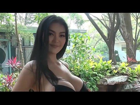Faii Orapun - Black Bikini big titis Hotgirl