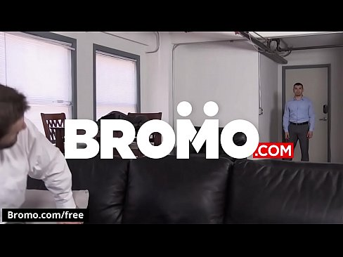 Dennis West with Jeremy Spreadums at The Business Of Barebacking Part 2 Scene 1 - Trailer preview - Bromo