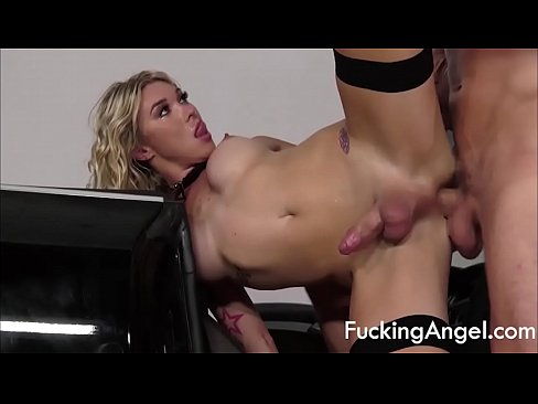 Big Tits Tranny Fucked In A Convertible - Aubrey Kate