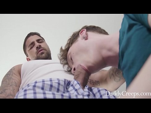 Blackmailing Daddy Into Fucking My Asshole