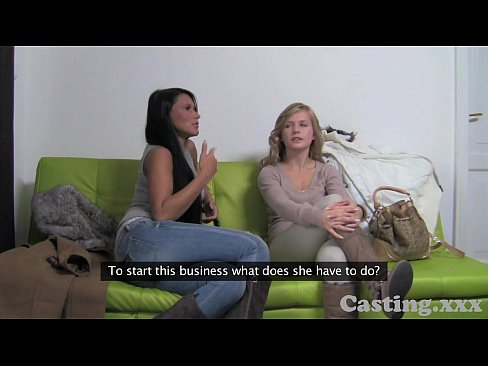 Casting HD Two girls make me cum quick part 1