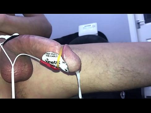 Tens estim huge load of cum