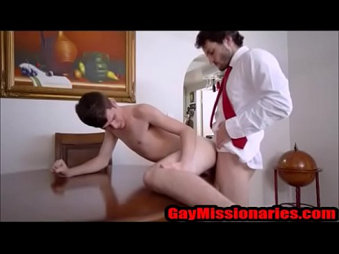 Tiny Boy Fucked Table Top - GayMissionaires.com