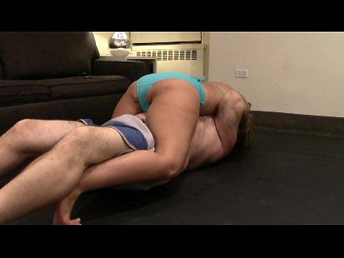 jones wrestling Megan