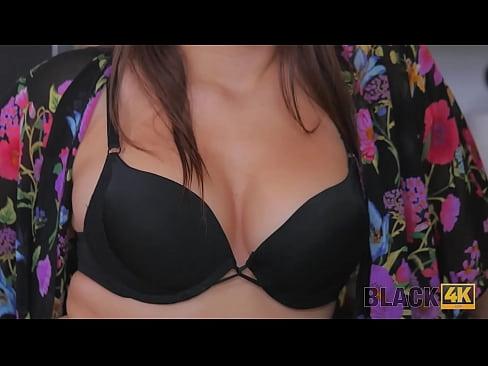 BLACK4K. Brunette Valentina Nappi has vagina exploited by the black guy