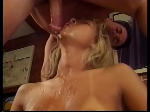 Cute sexy blond chick taking cock like a porn ho