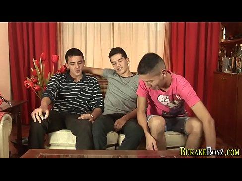Twink latinos jizz mouth