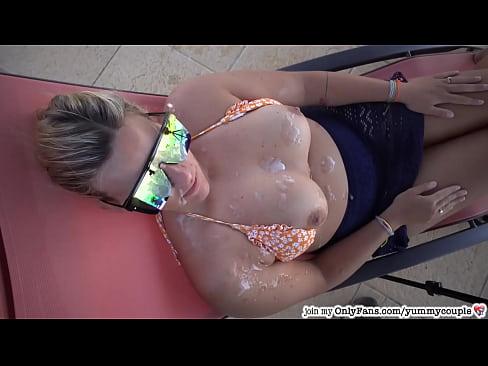 InCrEdibLe HUGE triple cum shower for happy MILF - YummyCouple