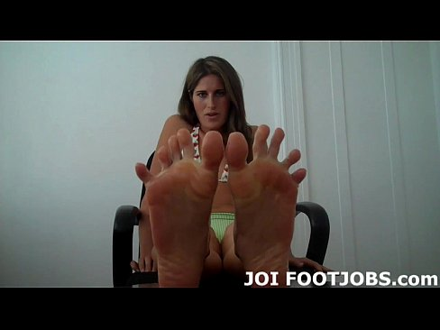 Let me lube my feet up and I will give you a footjob JOI