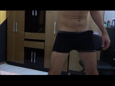 Gozada no quarto – Cumming in the bedroom-2 min