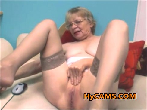Old Granny Solo Masturbation