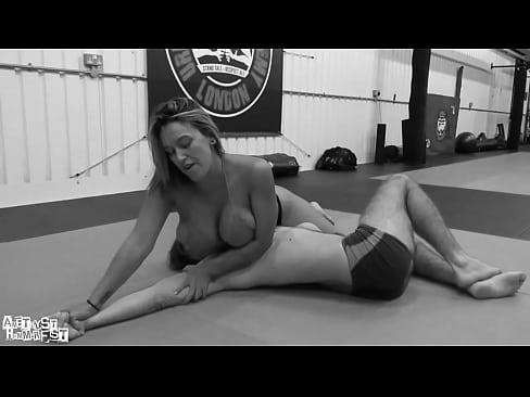 Mixed Wrestling Ass Licking