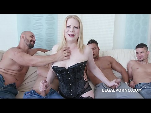 5on1 for the Big Butt PAWG Adry Berty with Double Anal & 5 swallows