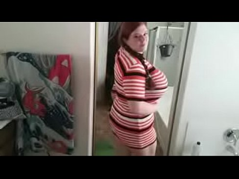 Big Tits Trying Clothes