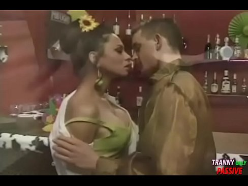 Bar sex with sexy ladyboy