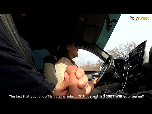 Slut taxi driver agreed to have sex, all ass is cummed on