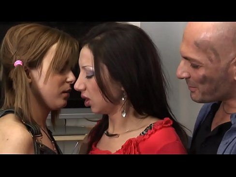 Franco Trentalance and the 2 Young Italian Nymphos - (HD Scene)
