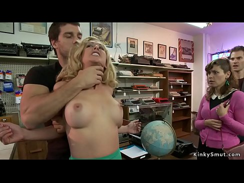Milf is fingered and fuckedi n public