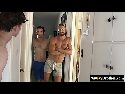 Hot gay brothers caught