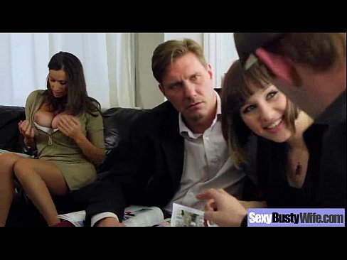 (sensual jane) Big Melon Tits Housewife Banged Hardcore video-29