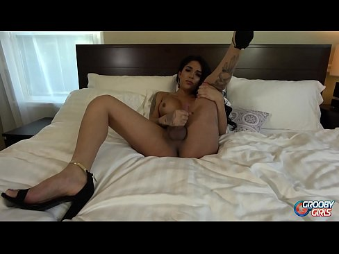 GROOBYGIRLS.COM: The Incredible Jane Marie Cums Hard