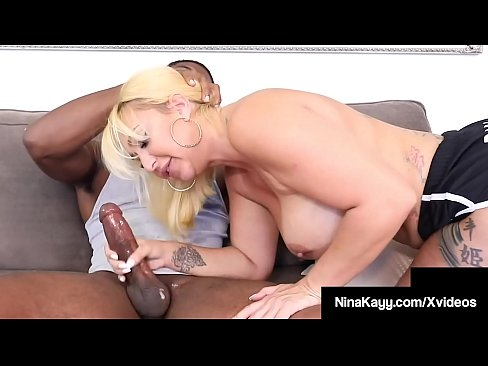 Big Ass Curvy Chick Nina Kayy Gets Pussy Fucked By A Big Thick Dick!