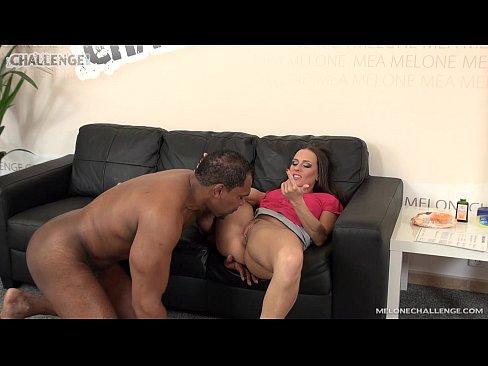 Melonechallenge Franco Roccaforte fuck Mea Melone with big black cock hard