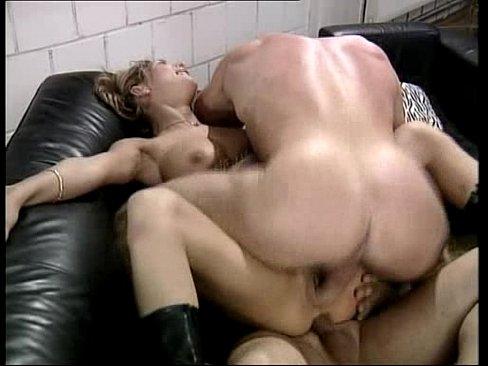 Muscle Stud Fucks Blonde