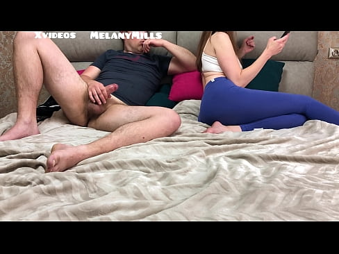 Wanted to Secretly Jerk Off Looking at Sister, in the end Fucked her Tight Pussy and Cum All Over Her Body