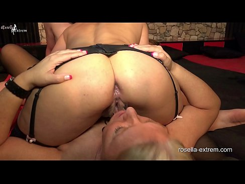 Dirty anal sperm from Stellas brown Assfucked asshole swallowed! Extreme Anal-Creampie GangBang mit Rosella und Stella!