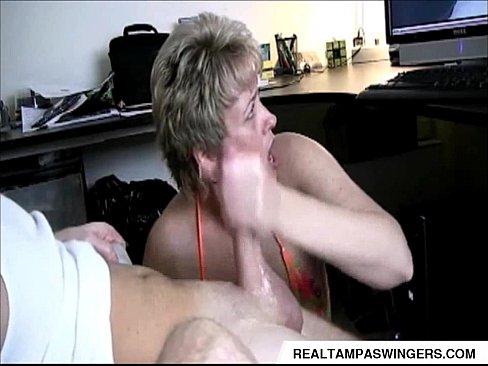 Stroking Cock Watching Porn