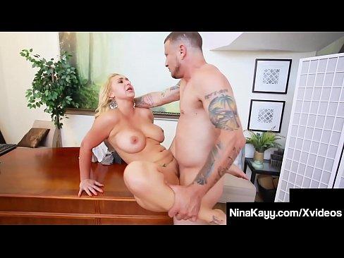 Big Boobed Big Booty Nina Kayy Gets Phat Pussy Fucked!