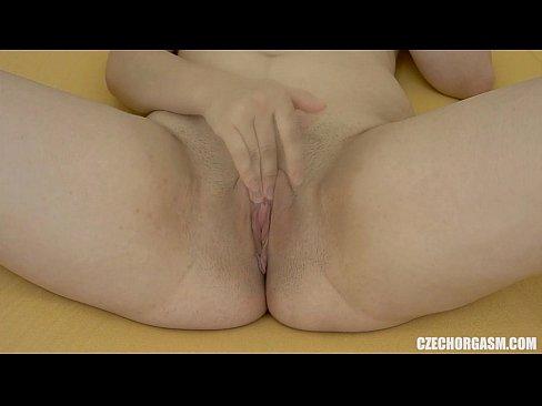 Czech Chubby Girl Masturbating On Camera