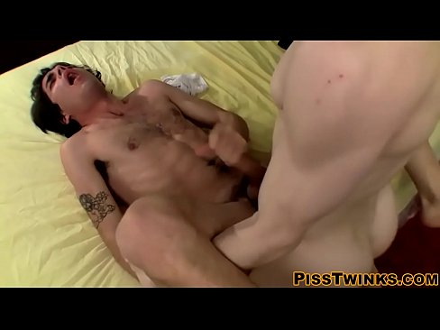 Devin Reynolds and Brian Strowkes have a sexy sword fight