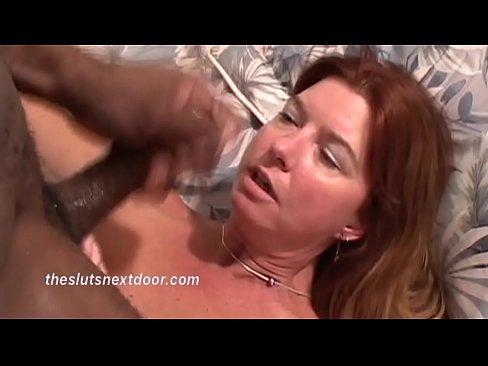 Muscular Black man fucks Redhead Milf
