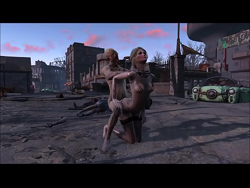 Fallout 4 Katsu and Ghoul