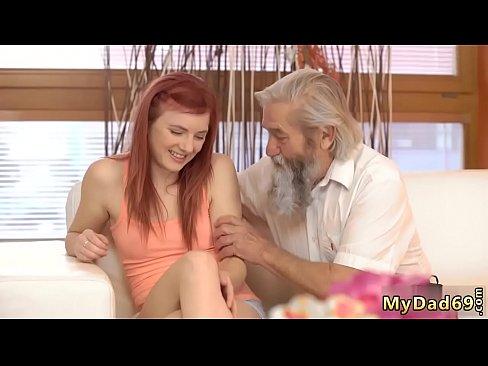 Old Man Young Girl Hard