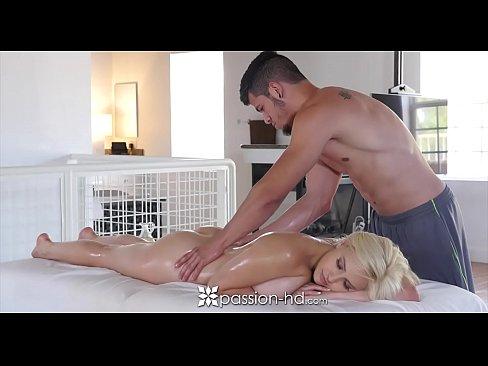 Masseur blonde fucked passionate agree