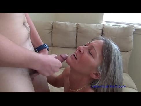 Amateur Milf Seduces Young Man