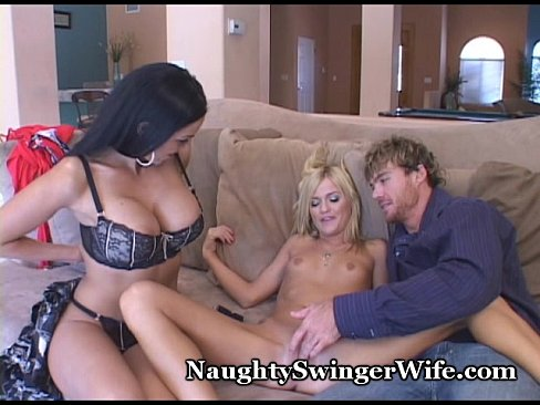 Young Couple Mature Threesome