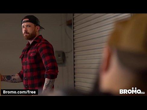 The Lumber Yard, Scene 1 featuring Jordan Levine and Teddy Bear - BROMO
