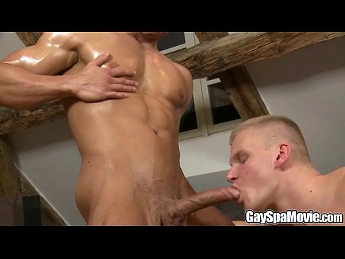 A Massage And A Fuck on Gay Spa Movie