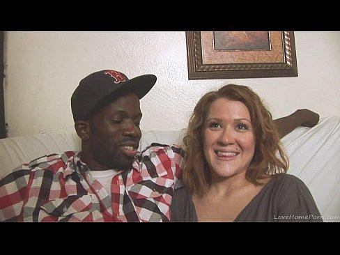 Interracial homemade couple shows their skills on camera