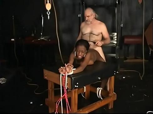 White Guy Pounds Black Girl