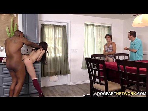 Lana Rhoades Bouncing Cock